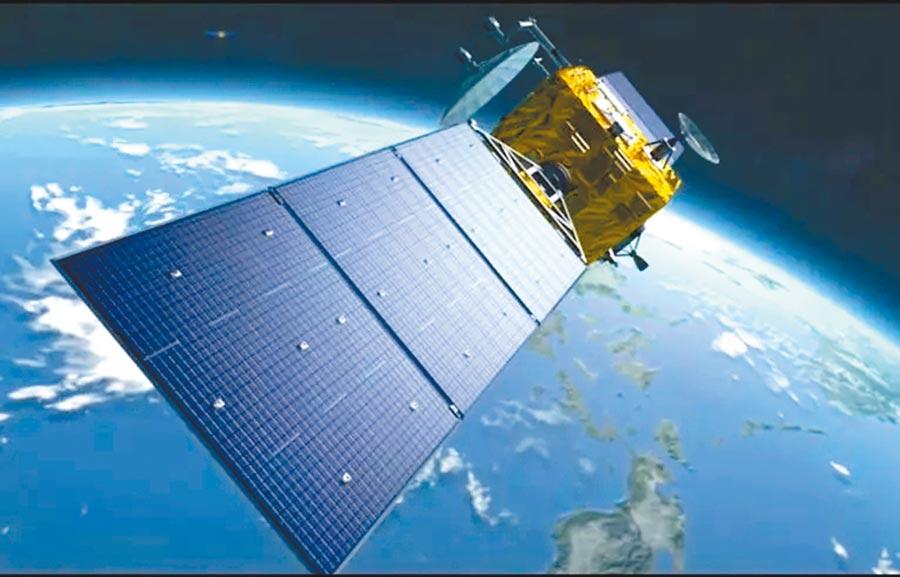 北斗導航衛星概念圖。(取自央視新聞)