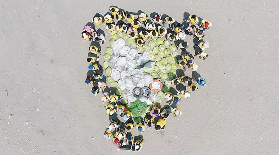 昇恆昌「無痕昇活大挑戰」萬人寶島遶淨活動