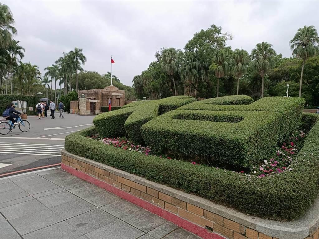 台大Ceiba課程成績遭改,校方:學生誤觸,圖為台大校園。(簡立欣攝影)