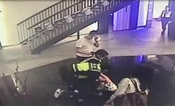 酒後KTV前打群架女警強勢壓制逮