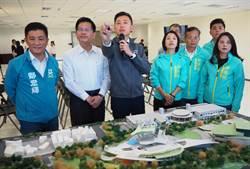 林佳龍視察竹縣市重大交通計畫 大新竹車站獲支持