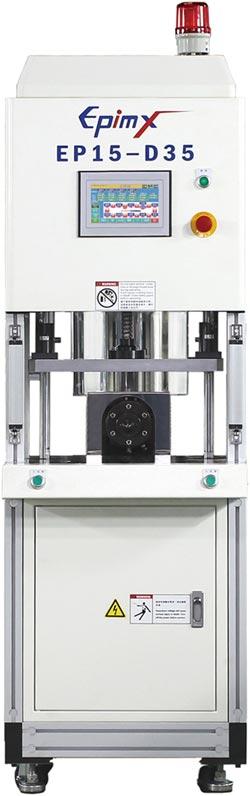 宜品熱熔膠封裝射出機 效率提高