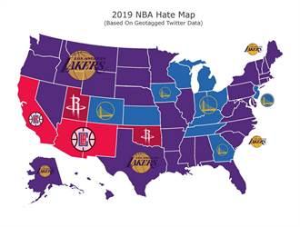 NBA》全美最遭痛恨球隊 湖人遙遙領先