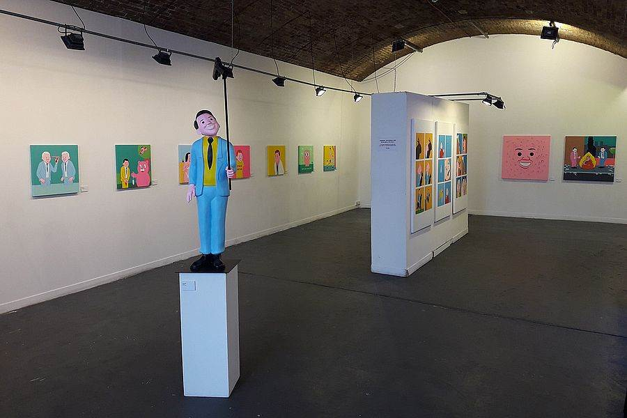 Joan Cornella 最受歡迎的自拍系列雕塑也將首度登台。(JUSTLIVE 就是現場 提供)