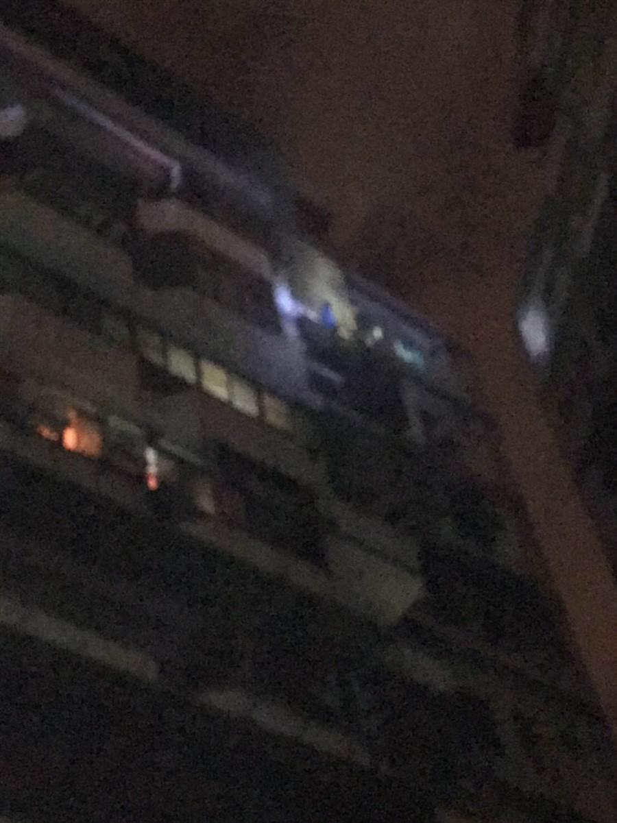 蘆竹區厚生路發生火警 ,3外勞獲救。(桃園市消防局提供/甘嘉雯桃園傳真)