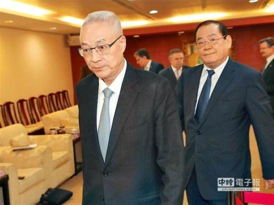 國民黨主席吳敦義。(圖為中時資料照)