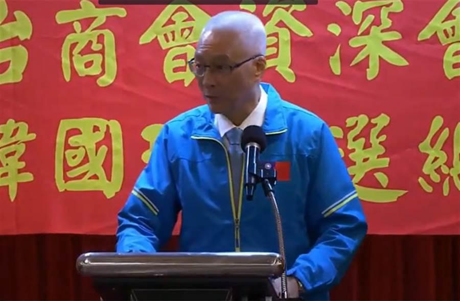 國民黨主席吳敦義出席「長照、醫師、護理、藥師、醫檢、公衛挺韓國瑜後援會」。