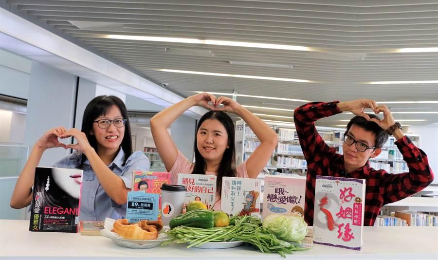 11月11日將至,新北市立圖書館推出獨家限定的雙11閱讀狂歡活動。(葉書宏攝)