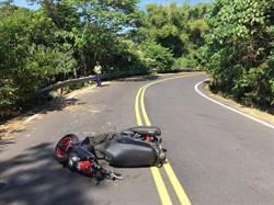 疑過彎沒減速摔車 嘉義19歲機車騎士送醫不治