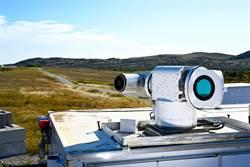雷射武器發威 美成功擊落無人機