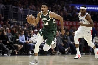 NBA》字母哥獨占MVP榜首 哈登第6