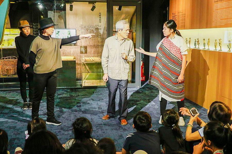 發現台灣戲劇導覽重現博物學家在研究之路上面臨的不同立場。(台博館提供)