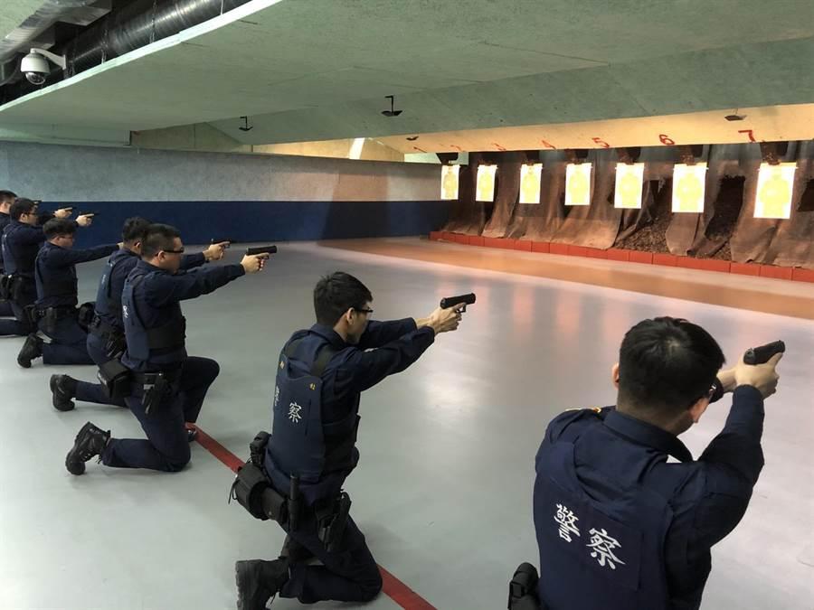 新北市永和警分局辦理「福和學院」職前教育訓練。(永和警分局提供/葉書宏新北傳真)