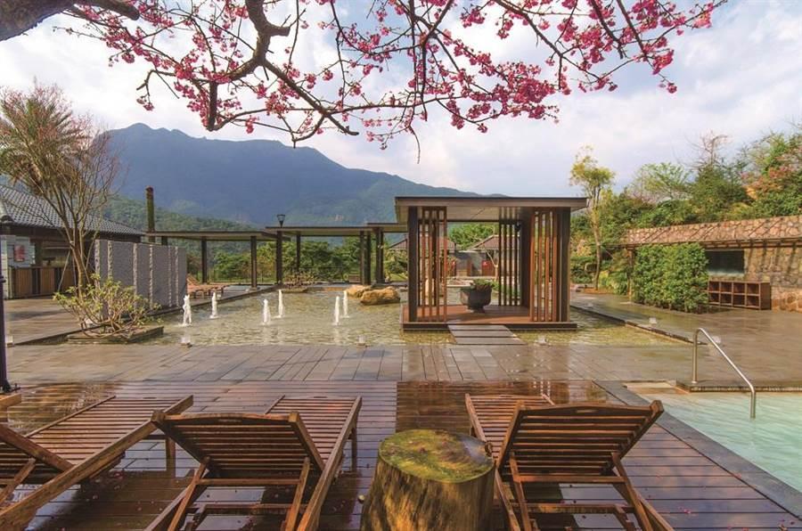 天籟渡假酒店優美環境。圖:業者提供