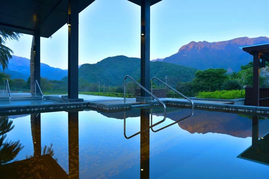天籟渡假酒店山光水色,寧靜舒適。圖:業者提供