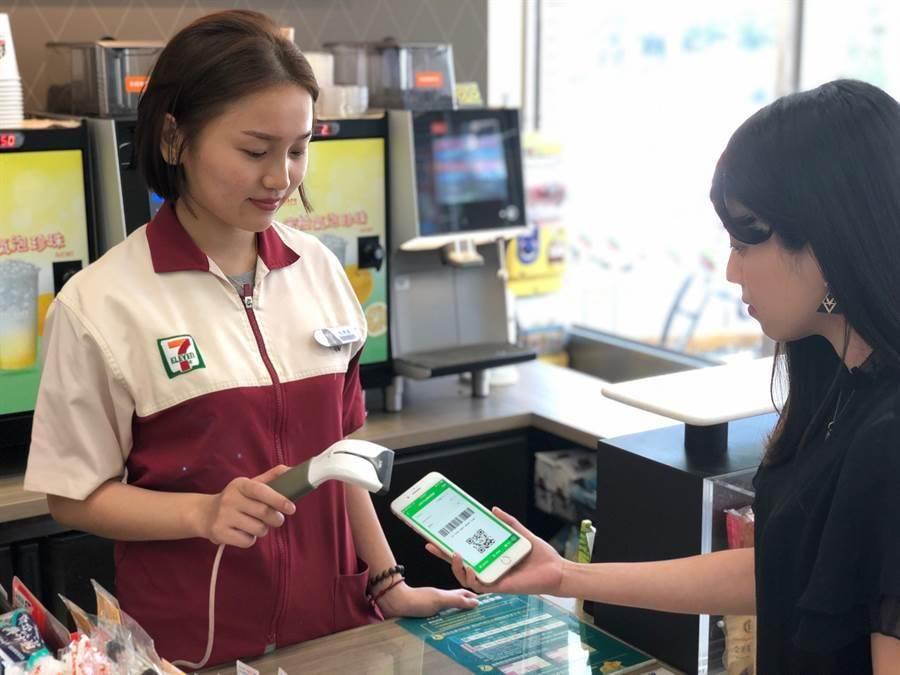 經濟部最新調查,去年全體零售業通路現金付款比例正式跌破4成,但超商仍有近9成收取現金,不過零售業的行動支付比例已超過1%,預期逐年成長。(圖:一卡通提供)