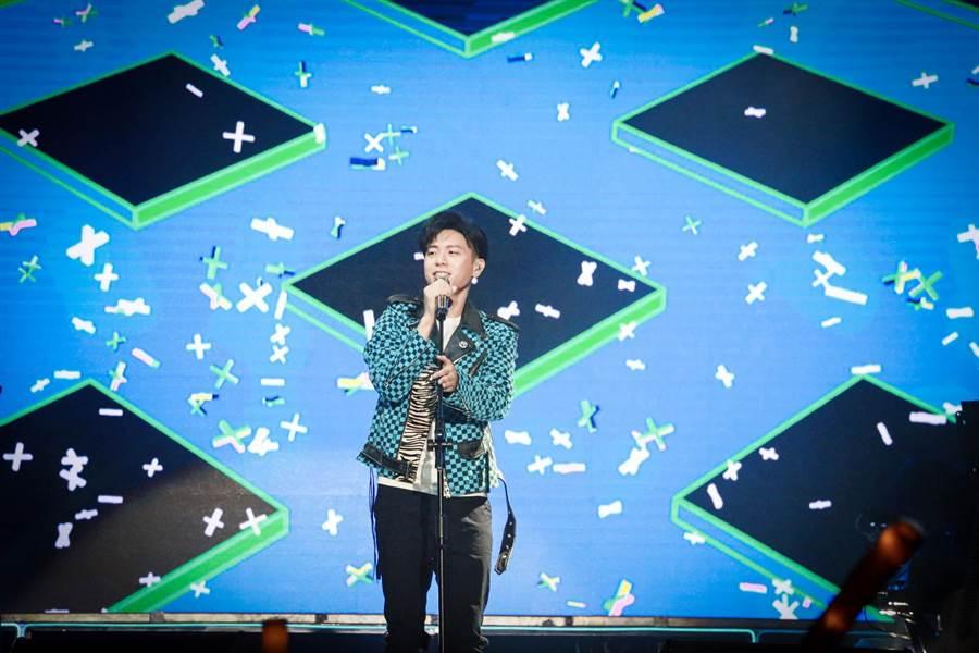 韋禮安今在南京開唱。(IMC提供)