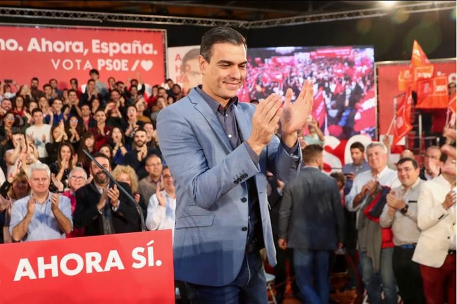 西班牙10日將舉行今年內的第2次大選。外界預期,看守首相桑切斯領導的工人社會黨仍將勝出,但無法取得國會多數議席,因此需與其他政黨籌組聯合政府。(路透)