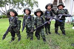 娃娃兵進擊台東市區 萌度爆表