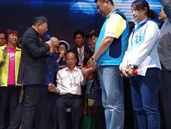 韓國瑜獲牧師祈福 帶領國家走向康莊道路