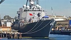 美國杜威號驅逐艦已安裝雷射砲