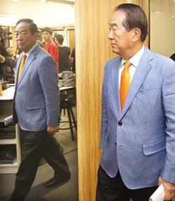 宋楚瑜是否選總統 橘13日揭曉