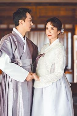 天心拍婚紗照變身韓劇女主角