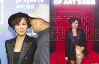53歲劉嘉玲近照曝光 真實狀態網驚呆...下半身成亮點