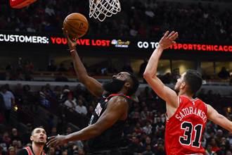NBA》武切維奇與哈登獲上周最佳球員