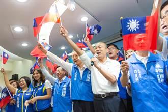韓國瑜高市競總授證 許崑源:下個月民調贏5%