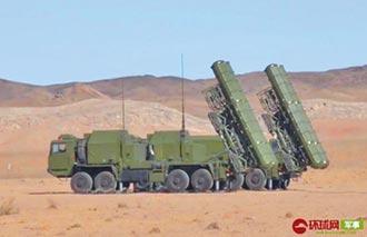 烏茲別克演習 試射陸紅旗-9