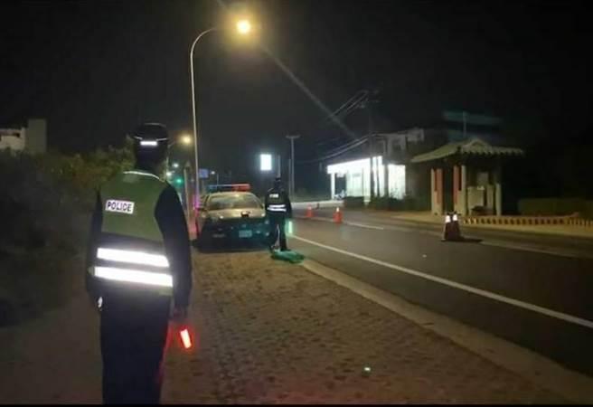 警方將在多事故路段(口)持續規畫勤務,落實防制交通事故發生。(警方提供/李金生金門傳真)