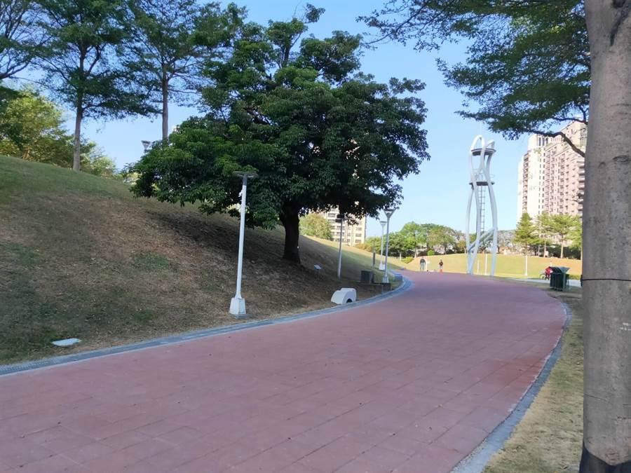 點亮燈會更進一步!文心森林公園副展區基礎工程完成。(台中市建設局提供/盧金足台中傳真)