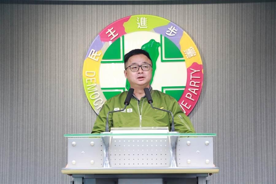 民進黨秘書長羅文嘉(民進黨中央提供)