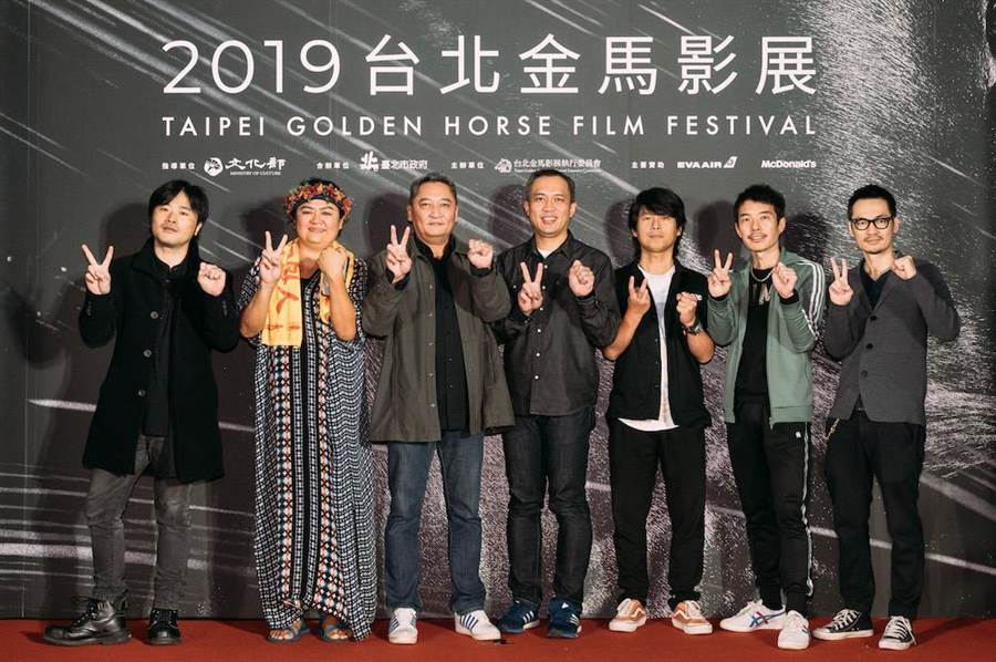 《我不流行二十年》在金馬影展世界首映,主創劇組出席。(金馬執委會提供)