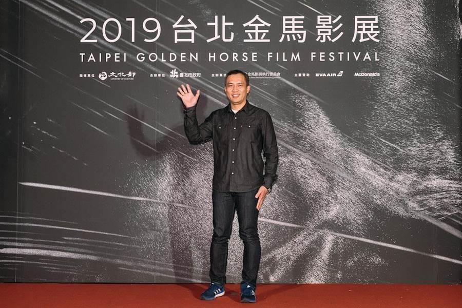 《我不流行二十年》導演龍男.以撒克.凡亞思。(金馬執委會提供)