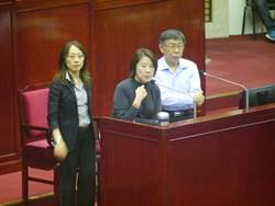 林俊憲爆韓國瑜找民代施壓台肥 黃珊珊否認