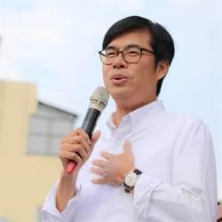 陳其邁批港府放任警察攻擊市民 就是暴政