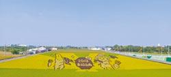 彩繪稻田 在地活廣告叫好叫座