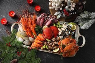 新北歡樂耶誕瘋童趣!海陸雙拼吃到飽 嘗海鮮品和牛