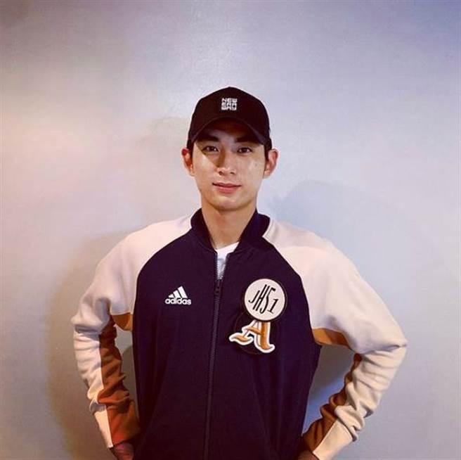 李政厚是南韓前名將「風之子」李鍾範的兒子。(圖/翻攝自IG)