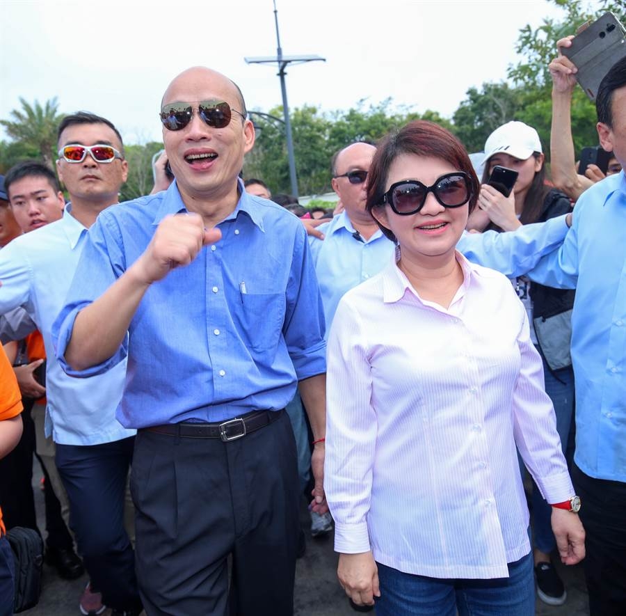 禿子、燕子去年底一舉選上直轄市長,對韓國瑜直攻總統府,台中市長盧秀燕曾強調,國民黨要勝選,必須團結。(盧金足攝)