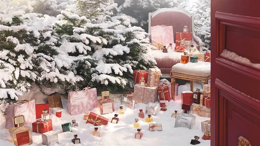 Maison Francis Kurkdjian 2019聖誕限定香氛蠟燭Mon beau Sapin奢華登場。(圖/品牌提供)