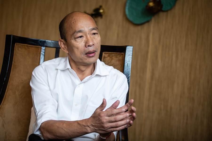 國民黨總統候選人韓國瑜。