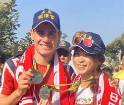 《Go Go Taiwan》段慧琳陪跑世界三鐵冠軍伊登  代言人秒變害羞小粉絲