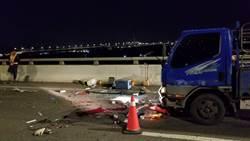 水果行司機撞死維修工  驚悚行車紀錄器畫面曝光