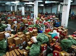 雙十一快遞高峰啟動 運送28億件網購物品