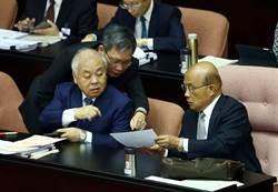 蘇揆:用台語說蔡總統領導無方的無就是有的意思 藍委:蘇貞昌有夠會凹