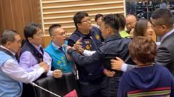 苗栗議員調資料遭拒 開議首日互嗆、推擠爆衝突