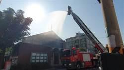 國際古蹟頻頻火災 桃市消防局演練